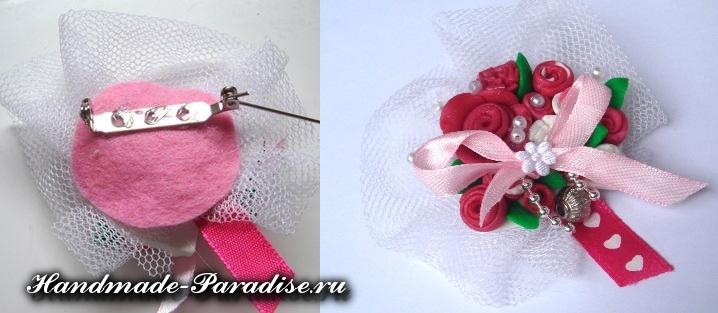 Лепка цветов из полимерной глины (10)