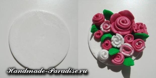 Лепка цветов из полимерной глины (6)