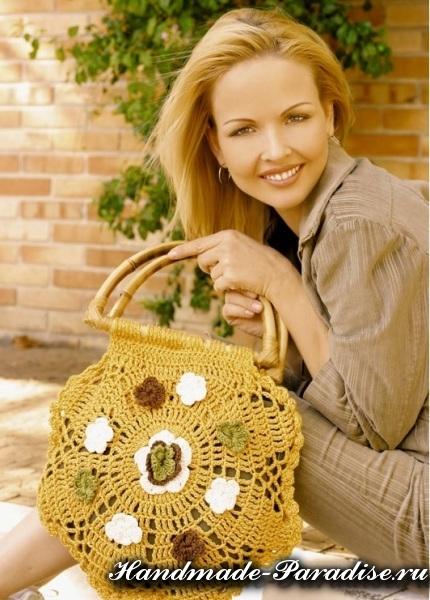 Летняя сумочка крючком. Схема (1)