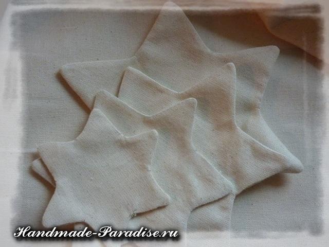 Новогодняя елка из ткани (4)