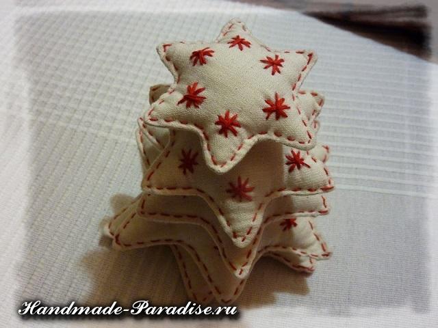 елка из ткани (5)