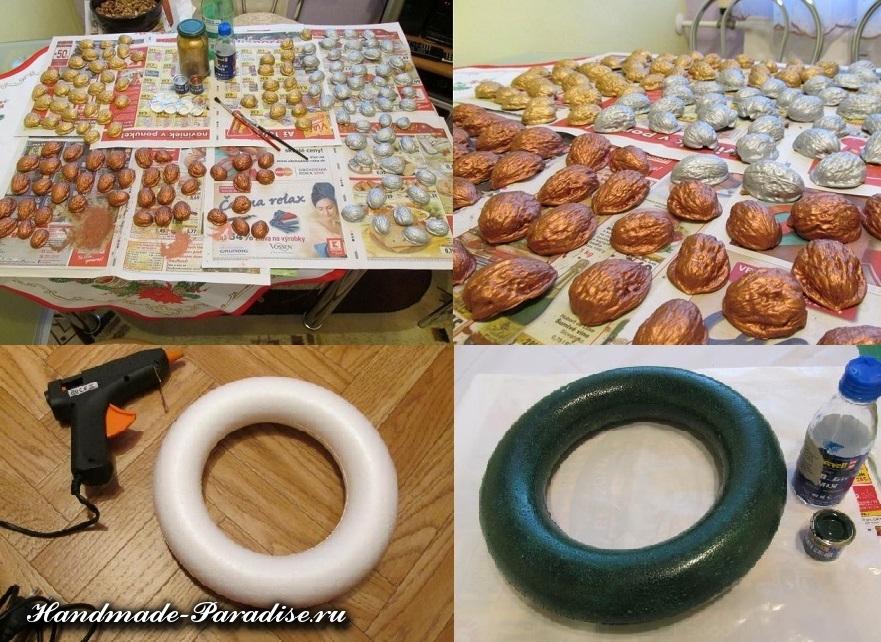 Грецкие орехи в новогоднем декоре (10)