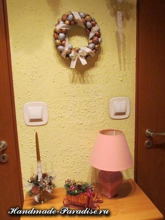 Грецкие орехи в новогоднем декоре (13)