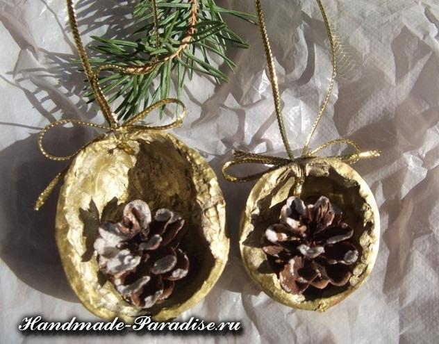 Грецкие орехи в новогоднем декоре (14)