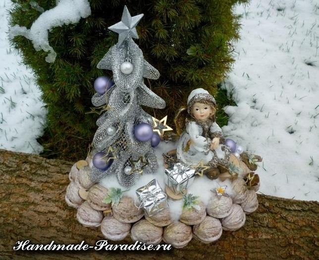 Грецкие орехи в новогоднем декоре (15)