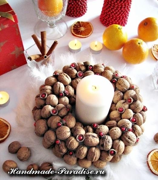Грецкие орехи в новогоднем декоре (16)