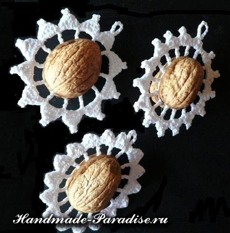 орехи в новогоднем декоре (2)