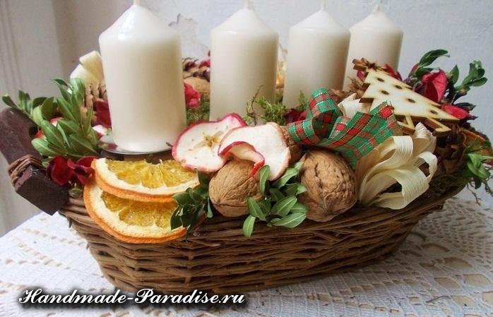 Грецкие орехи в новогоднем декоре (20)