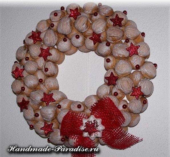 Грецкие орехи в новогоднем декоре (21)