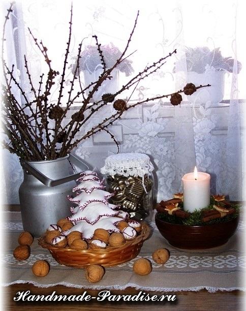 орехи в новогоднем декоре (22)