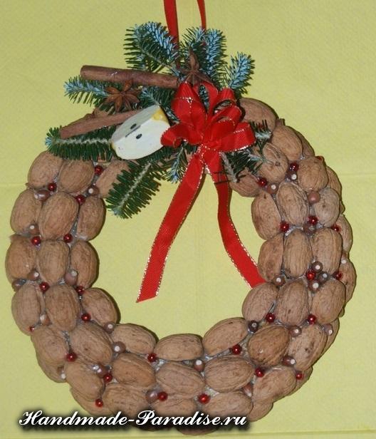 орехи в новогоднем декоре (24)
