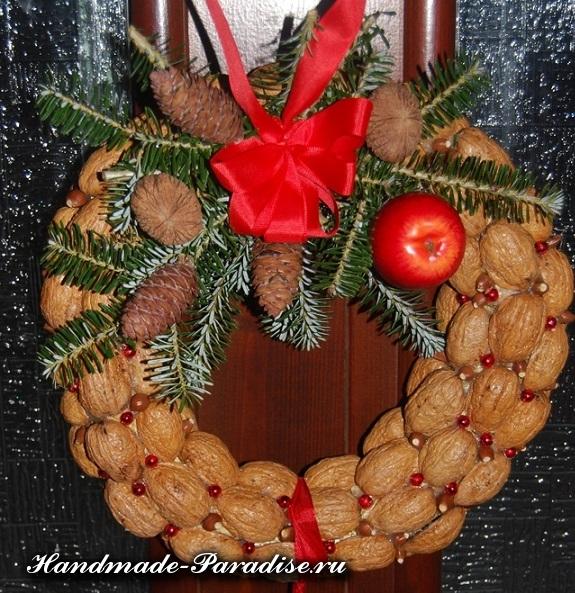 орехи в новогоднем декоре (25)