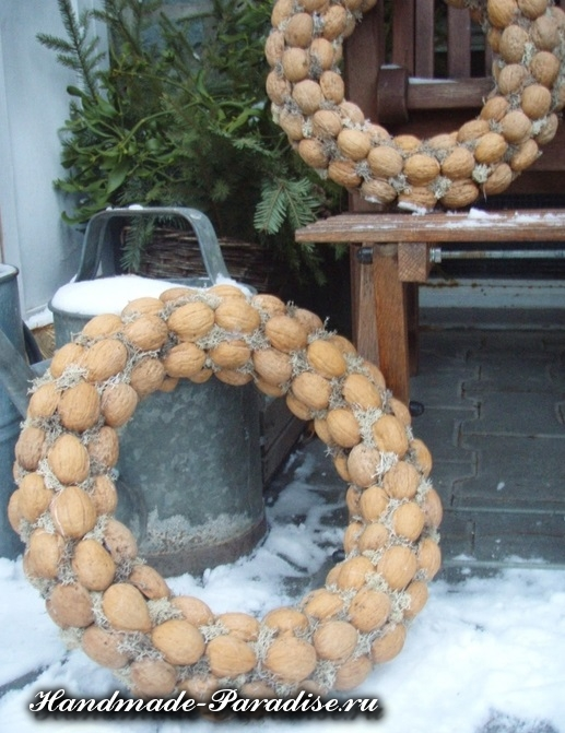 орехи в новогоднем декоре (27)