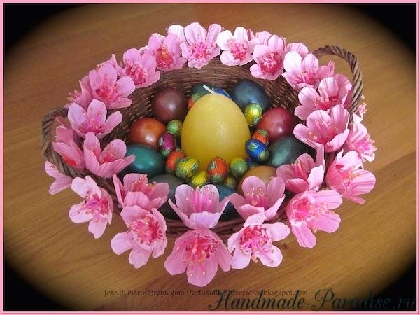 Цветы из яичных лотков (11)