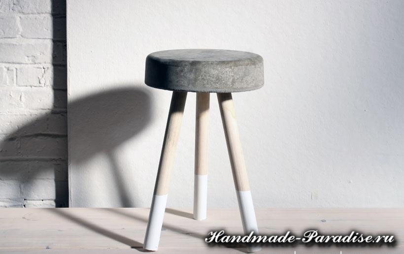 Скамейка из бетона своими руками (1)