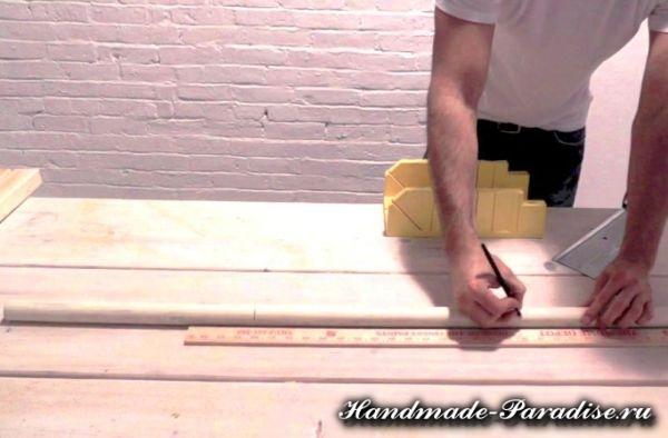 Скамейка из бетона своими руками (4)