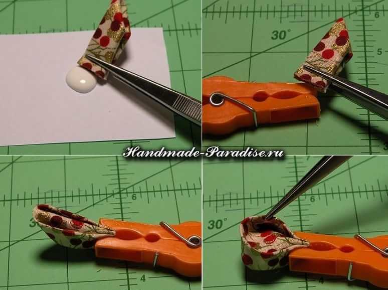Цветочки канзаши из ткани (4)