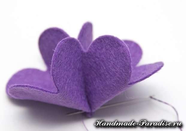 Цветы из фетра (2)