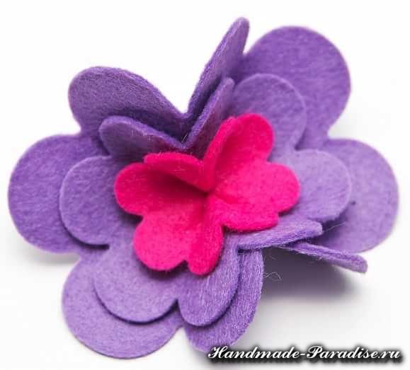 Цветы из фетра (4)