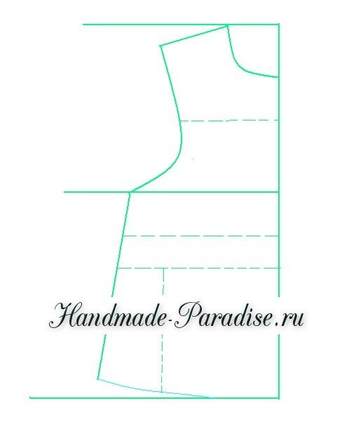 Выкройка летнего платья (2)