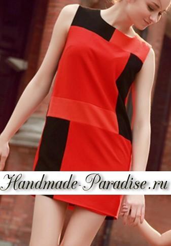 Выкройка летнего платья (3)