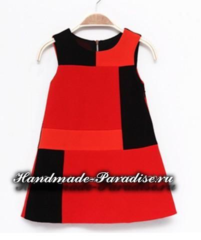 Выкройка летнего платья (5)