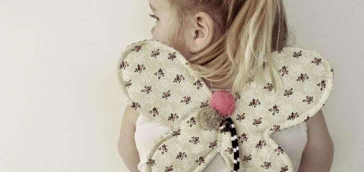 крылья бабочки для девочки. мастер-класс по пошиву