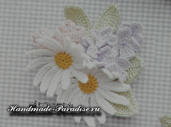 Схема вязания крючком цветов (4)