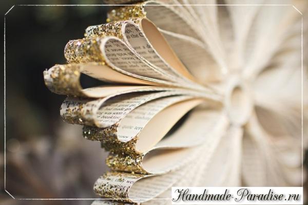 los copos de nieve de las páginas del libro (18)