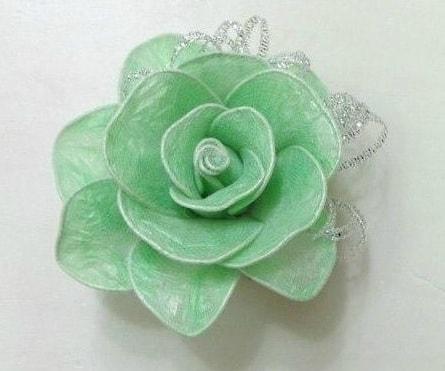 цветы из полиэтиленовых пакетов. мастер-класс (1)
