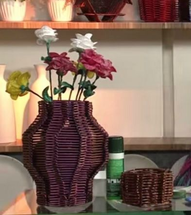 цветы из полиэтиленовых пакетов. мастер-класс (2)