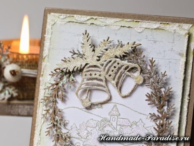 Рождественские открытки своими руками (12)