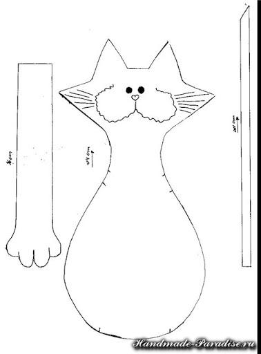 Выкройка кота (14)
