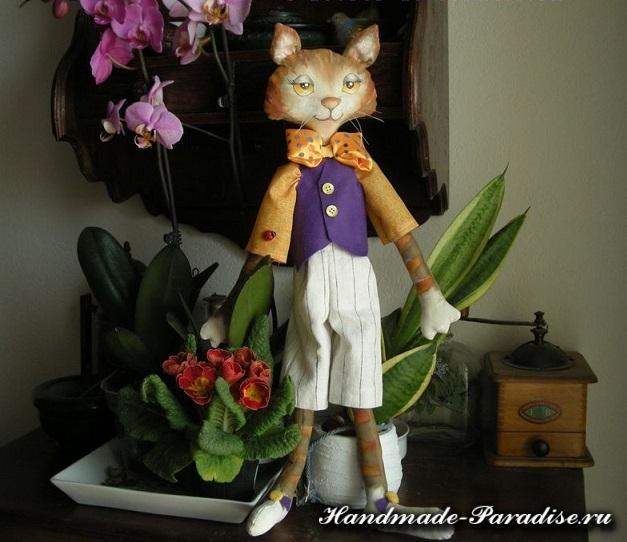 Выкройки котов для пошива игрушки (12)