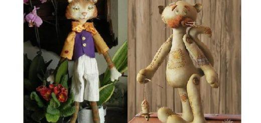 Выкройки котов для пошива игрушки