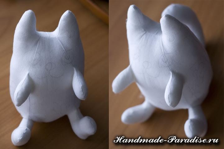 Выкройки котов для пошива игрушки (2)