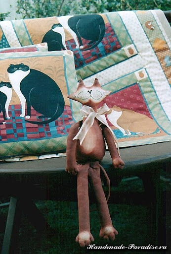 Выкройки котов для пошива игрушки (7)