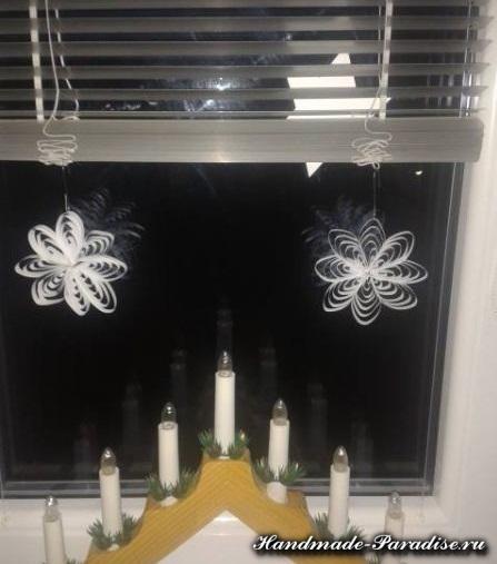 снежинки из бумаги. мастер-класс (7)