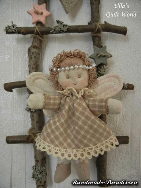 текстильный рождественский ангел (2)