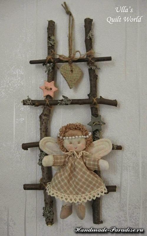 текстильный рождественский ангел (3)