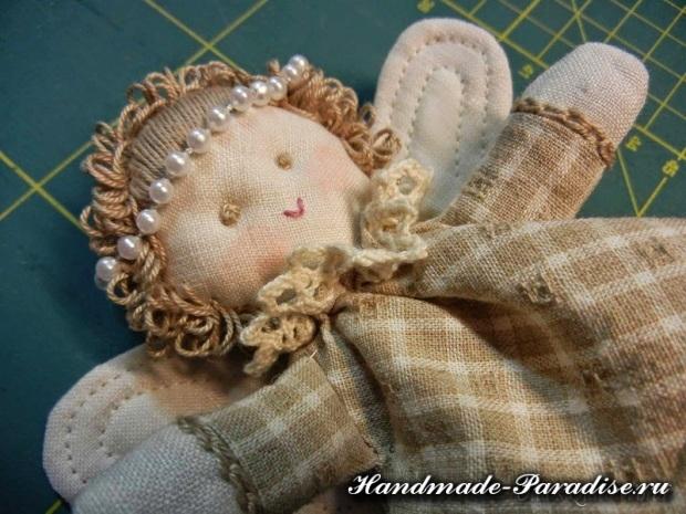 Как сшить рождественского ангела своими руками