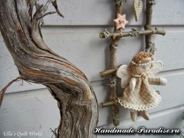 текстильный рождественский ангел (5)