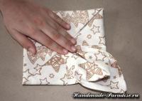 Как сложить салфетку для праздничной сервировки стола (12)