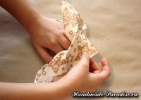 Как сложить салфетку для праздничной сервировки стола (14)