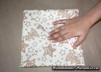 Как сложить салфетку для праздничной сервировки (6)