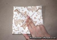 Как сложить салфетку для праздничной сервировки стола (9)