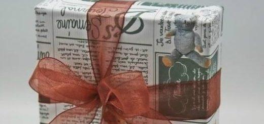 Как упаковать книгу в подарок