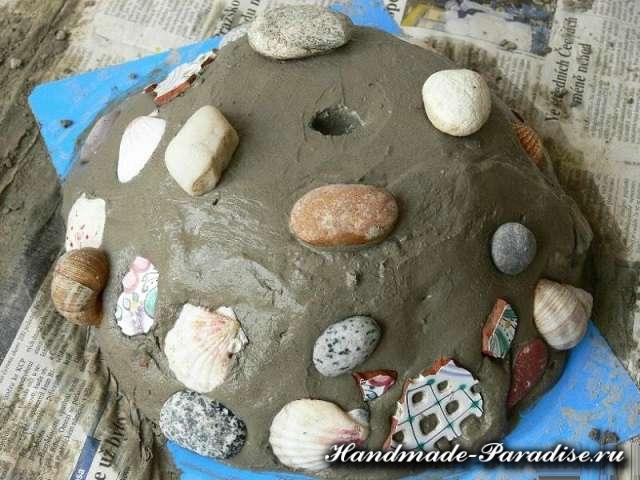 Кашпо из бетона своими руками (4)