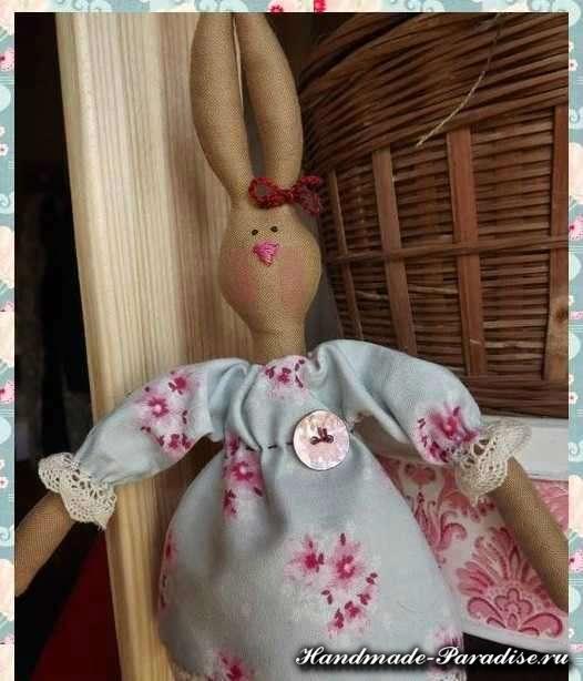 Шитье тильда зайца мастер класс - Мастер классы - Кукла Тильда