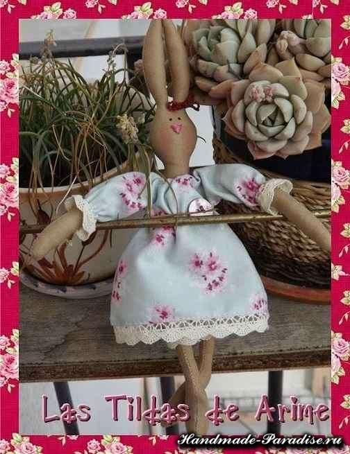Мастер-класс по пошиву зайца тильды (2)